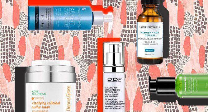 Anti-Aging Products Suitable for Acne-Prone Skin