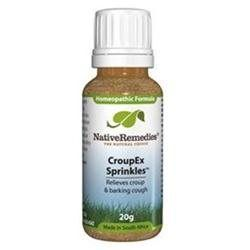 Native Remedies CPX001 CroupEx Sprinkles to Temporarily Relieve Croup and Barking Cough - 20g