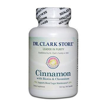 Cinnamon with Biotin & Chromium Supplement, 502 MG, 100 Capsules