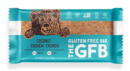 The Gluten Free Bar Coconut Cashew Crunch