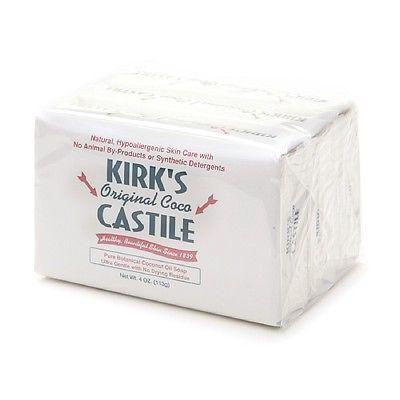 Kirk's Original Coco Castile Bar Soap Original 3.0 ea(pack of 12)
