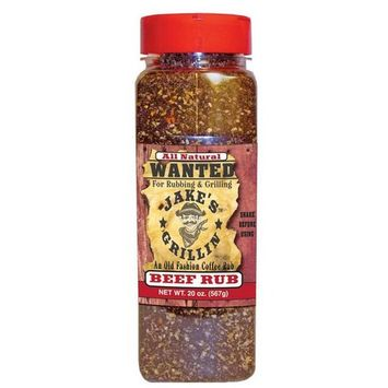 Jake's Grillin Beef Rub, 6 Count