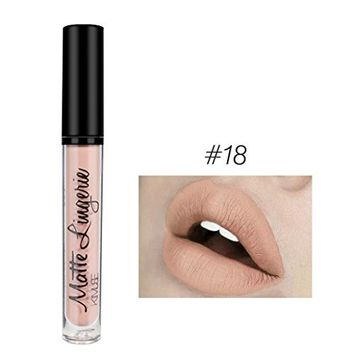 Lip Gloss, Lotus.flower 21 Colors Lip Velvet Matte Waterproof Bright Moisturizing Lip Gloss Lipstick Long Lasting Lip Gloss