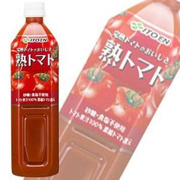 Taste ripe tomato 900gPETX12 this X2 box set of ITO EN ripe tomatoes