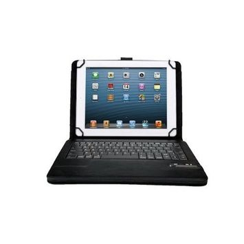 TOP® New Version Faux Leather Carrying Case cover with Bluetooth Keyboard for Samsung Galaxy Tab2 10.1(P5110/P5100/P5113) and Note 10.1 N8000 N8010 N8013 in Black, 6~10 DAYS DELIVERY to USA!