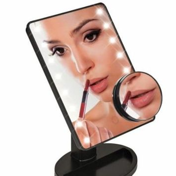 Womens's Cosmetic Facial LED face enhancer Mirror Bright LED Light