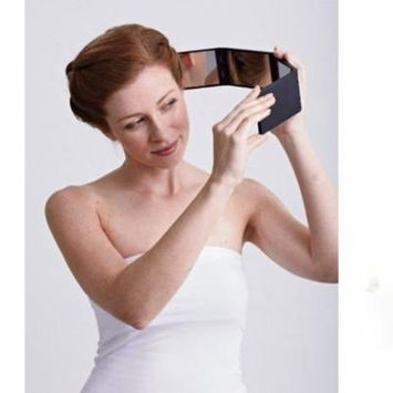 Panaromic Foldable Transformable 4 Panel Cosmetic Mirror For Better View