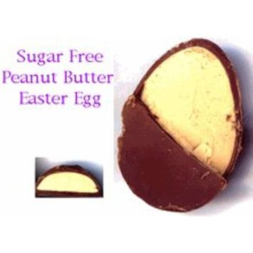 3 pack - Diabeticfriendly Sugar Free Milk Chocolate Egg, Peanut Butter Filled, 1 oz.