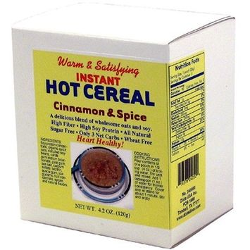 Dixie Carb Counters Cinnamon & Spice Instant Hot Cereal