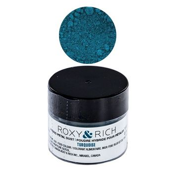 Edible Hybrid Petal Dust, Turquoise by Roxy & Rich