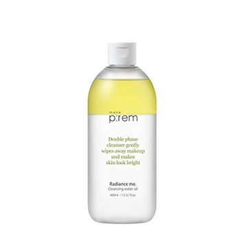 MAKEP:REM Radiance Me. Cleansing Water Oil 400ml / 13.5 fl oz | Deep Cleansing Makeup Remover | Moisturizing and Refreshing by MAKEPREM MAKE P:REM (13.5 fl. oz.)