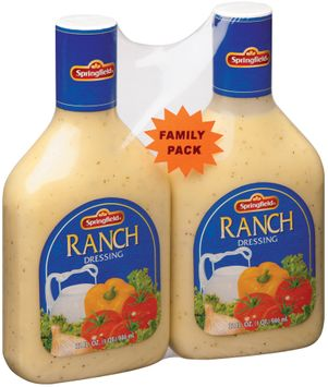 Springfield Ranch 1 Qt Dressing 2 Ct Plastic Bottles
