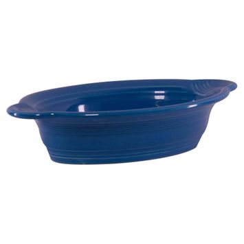 Fiesta Set of 2 Individual Oval Casserole Dishes, Peacock