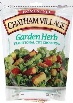 chatham village® garden herb traditional cut croutons