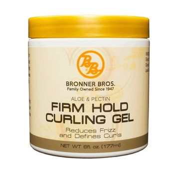 Bronner Bros Firm Hold Curling Gel, 6 Ounce