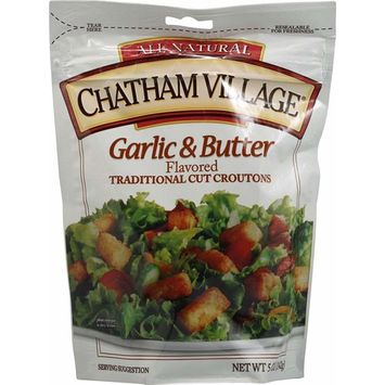 Chatham Village Croutons Garlic and Butter -- 5 oz