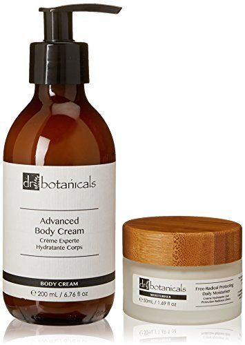 Dr Botanicals Advanced Body Cream and Free Radical Protecting Daily Moisturiser