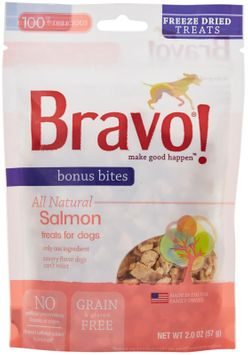 Bravo! Freeze Dried Salmon - 2 oz.