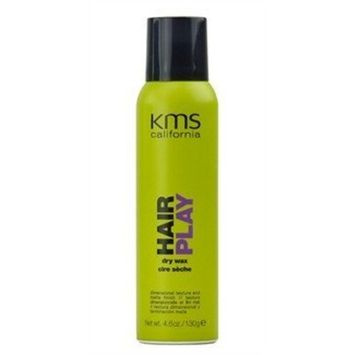 KMS HAIRPLAY Dry Wax Dimensional Texture & Matte Finish, Definition, Flexibility, Lightweight, 5.1oz