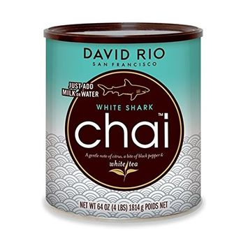 David Rio White Shark Chai, 4 Pound [White Shark]