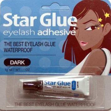 1dz of Star Eyelash Glue for Strip Lashes (Dark) 1g (1/28oz)