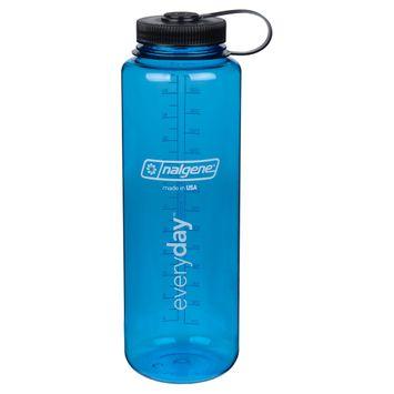 Nalgene Water Bottle Wide Mouth 48 oz - Blue