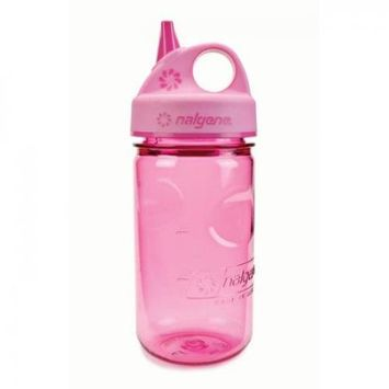 Nalgene Grip-N-Gulp Water Bottle, 12oz - Pink Woodland
