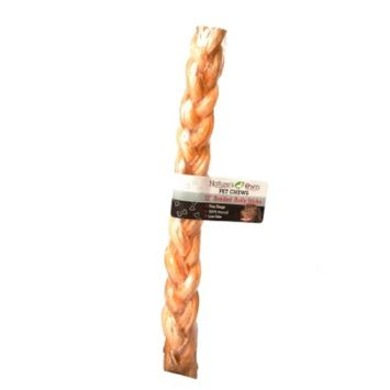 Best Buy Bones Natures Own Braided Bully Stick 12 Inch 90151 Pack of 12