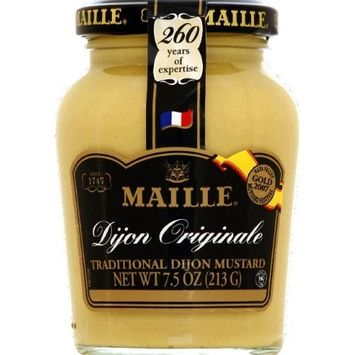 Maille Dijon Originale Traditional Mustard Hot 7.5oz(Pack of 8)