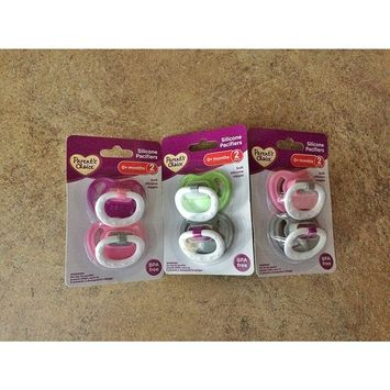 PARENTS CHOICE SILICONE ORTHODONTIC PACIFIERS