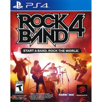 Mad Catz Rock Band 4 Game Only (PS4) - Pre-Owned