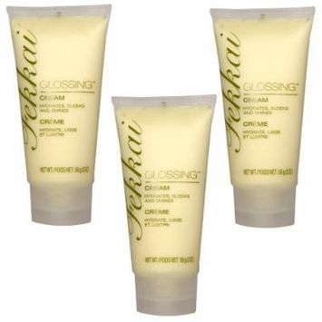 Fekkai Glossing Cream Hair Products 3 Units of 1.6 Oz Each (4.8 Oz Total)