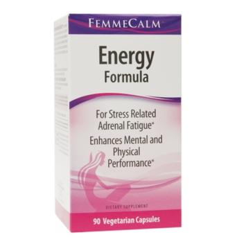 FemmeCalm Energy Formula, Vegetarian Capsules