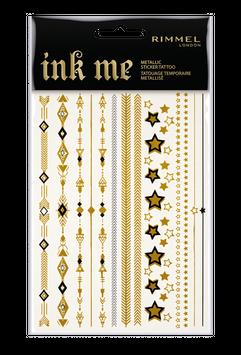 Rimmel London Ink Me Metallic Sticker Tattoo
