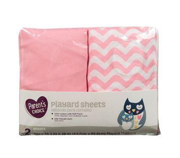 Parents Choice™ Playard Sheet Pink