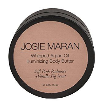 Josie Maran Whipped Argan Oil Illuminizing Body Butter Soft Pink Radiance + Vanilla Fig Scent