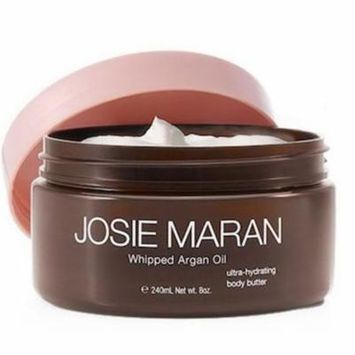 Josie Maran Whipped Agran Oil Ultra Hydrating Body Butter, Strawberries and Whipped Cream 8 Oz.