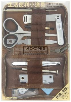 Seki Edge Adonis 9-piece Grooming Kit (AG-500)
