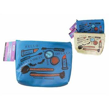 Travel Cosmetic & Makeup Bag, 8.5