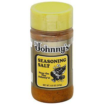 Johnny's Fine Foods Johnny's Seasoning Salt, 8.5 oz, (Pack of 6)