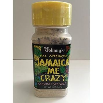 Johnny's Jamaica Me Crazy, Seasoned Sea Salt, 5-ounce