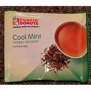 dunkin donuts cool mint Herbal Infusion Tea 45 Tea Bags