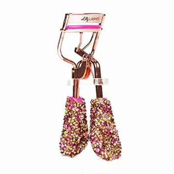 LILLY LASHES Bling on the Glam Eyelash Curler Exclusive Eyelash Curler For The Perfect Curl Every Time Hot Pink