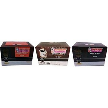 Dunkin Donuts Coffee 3-Flavor Variety Pack