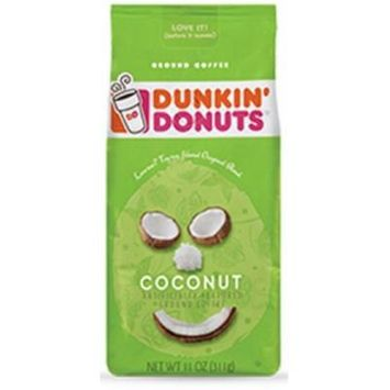 Dunkin' Donuts Coconut Flavored Coffee 11oz