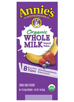Annie's® Organic Berry Patch & Organic Strawberry Banana Yogurt Tubes