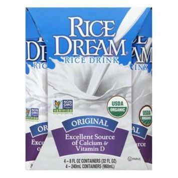 Rice Dream Original Rice Drink, 32 Oz (Pack of 6)