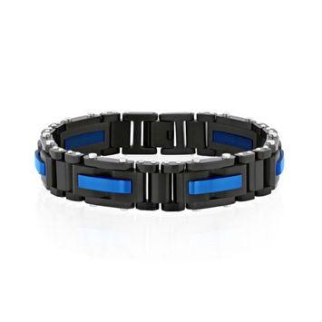 Men's Riveted Link Bracelet