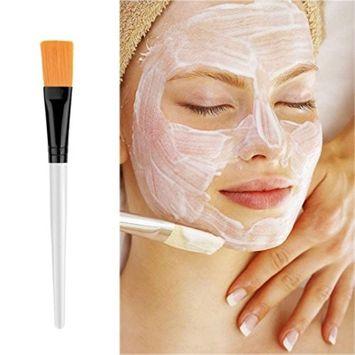1pc Transparent Handle Facial Face Mud Mask Mixing Brush Cosmetic Makeup Kit