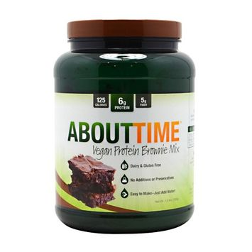 About Time Vegan Protein Brownie Mix 1.5 lbs